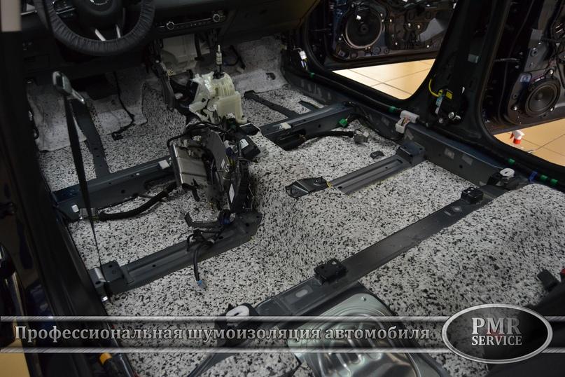 Шумоизоляция Mazda 6, изображение №4
