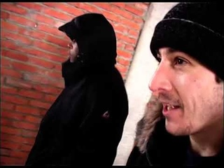 David Belle in Moscow (winter 2004)