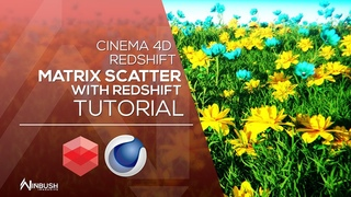 Using The Matrix to Scatter with REDSHIFT & CINEMA 4D