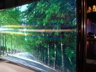Samsung's bendable TV at CES 2014
