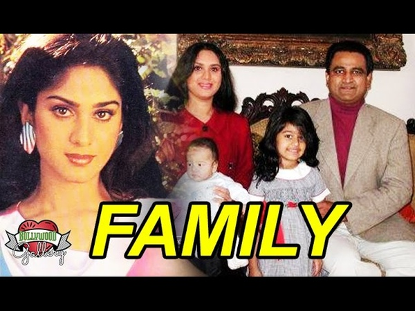 Meenakshi Seshadri Family With Husband, Daughter, Son and Brother Photos