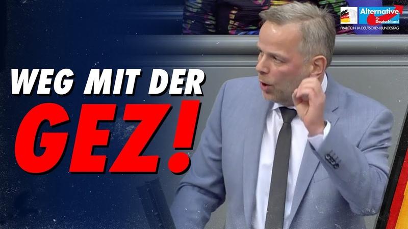 Weg mit der GEZ! Leif Erik Holm AfD Fraktion im Bundestag