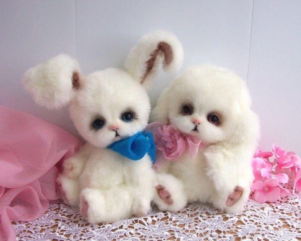 Забавные куклы-зверюшки из шерсти.