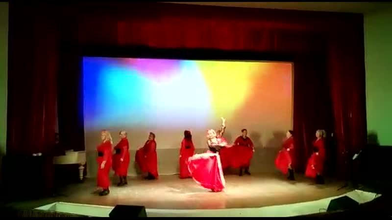 Концерт в пансионате Заря, 19.02.2020г.Танцевальный коллектив Кристалл