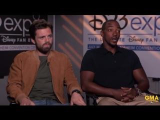 Good Morning America | Интервью с Себастьяном Стэном и Энтони Маки