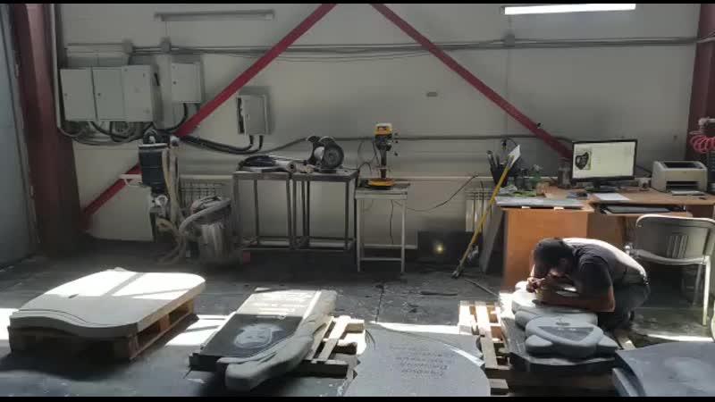 цех компании БИЛКАМ работают 3 фрезера ЧПУ нашего производства УРАЛФРЕЗЕР