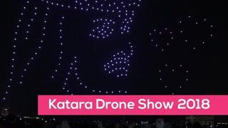 Qatar National Day 2018 Drone Air Show