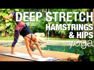 Deep Stretch Yoga Class Hamstrings Hips - Five Parks Yoga