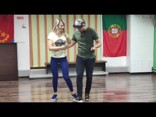 Юрий и Мария - танец Кизомба