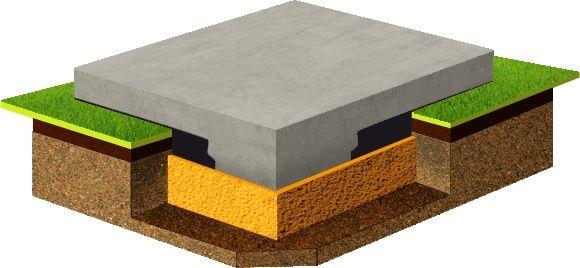 максимальная толщина монолитной плиты