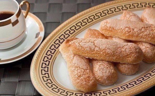 """Бисквитное печенье Савоярди, или """"дамские пальчики"""" - обязательный компонент Тирамису"""