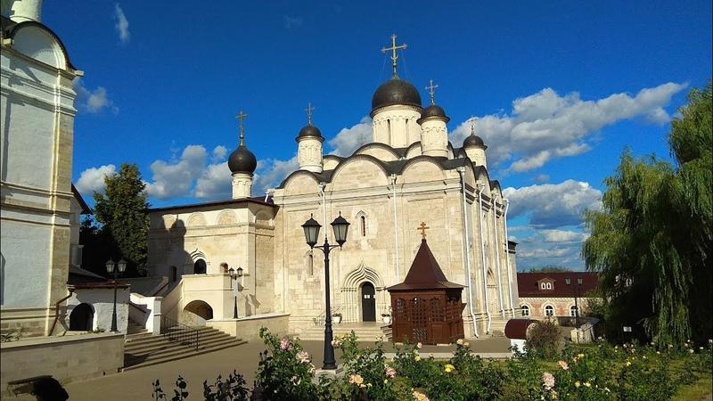 Введенский Владычный женский монастырь в Серпухове