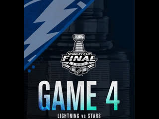 Stanley Cup Final 2020 Game 4 Tampa Bay Lightning-Dallas Stars