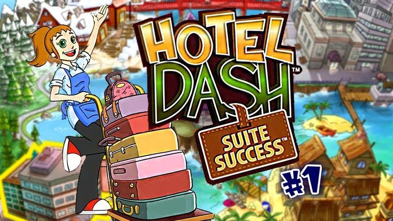 Hotel Dash: Suite Success | Gameplay (Level 1 to 5) - 1