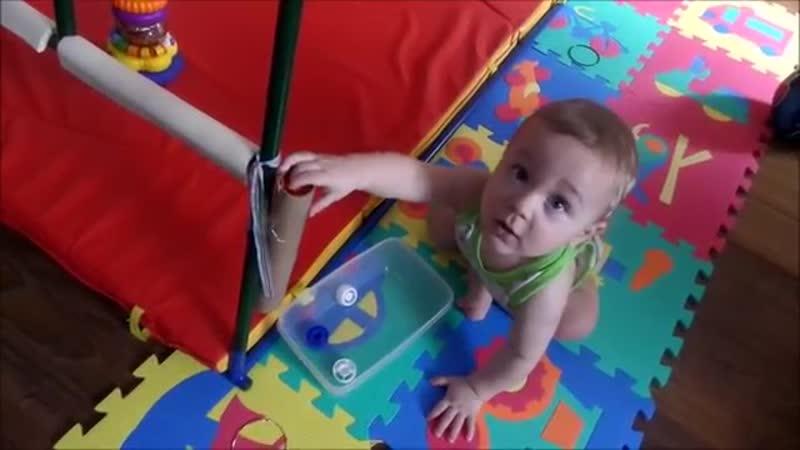 Игры без игрушек Развивающие занятия дома для детей 9 10 месяцев