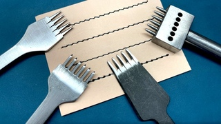Leather Chisels: Which one gives the best stitching?