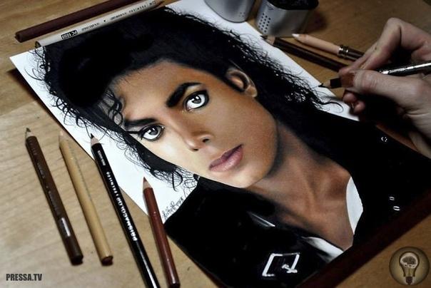 Это не фотографии! Реалистичные портреты с помощью цветных карандашей Хизер Руни - американская художница, которая специализируется на фотореалистичных цветных карандашных и графитовых рисунках.