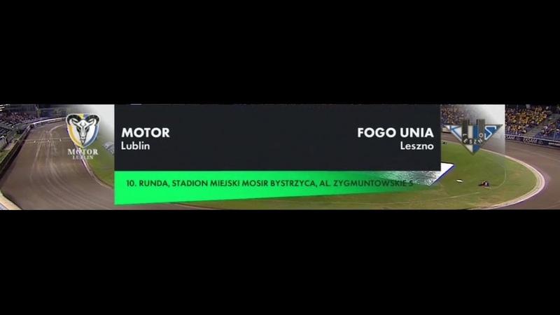 MOTOR LUBLIN FOGO UNIA LESZNO 14 08 2020 Cały mecz