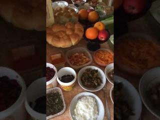 11 04 2021  молитва за пищу