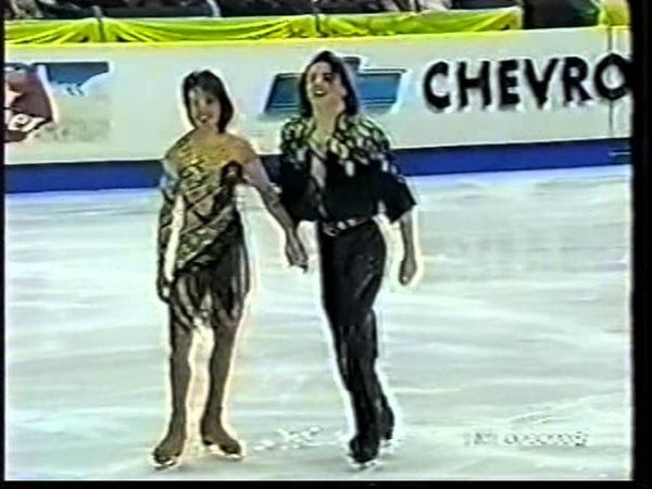 Irina Lobacheva Ilia Averbukh RUS 2000 World Championships OD