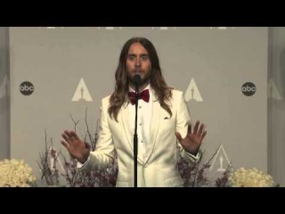 Jared Leto lets the press 'fondle' his Oscar: Why he never expected to win