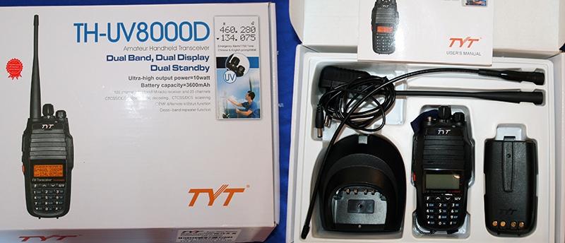 Обзор радиостанции TYT TH-UV8000D | ВКонтакте