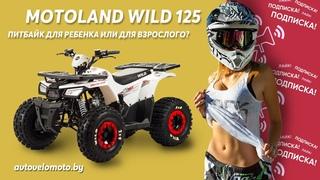 Motoland wild 125. Квадроцикл для ребенка, подростка или для взрослого? Купить квадроцикл в Минске.