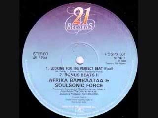 afrika bambaataa  looking for the perfect beat