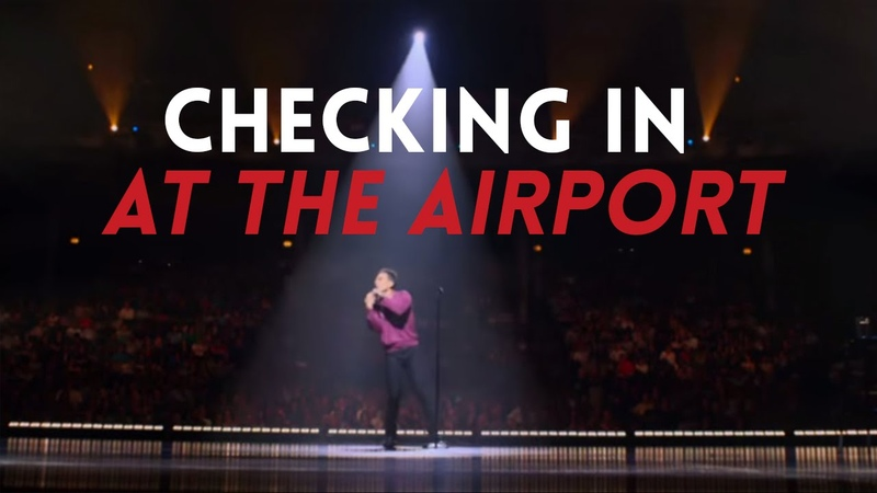 Checking In at the Airport | Sebastian Maniscalco: Aren't You Embarrassed?