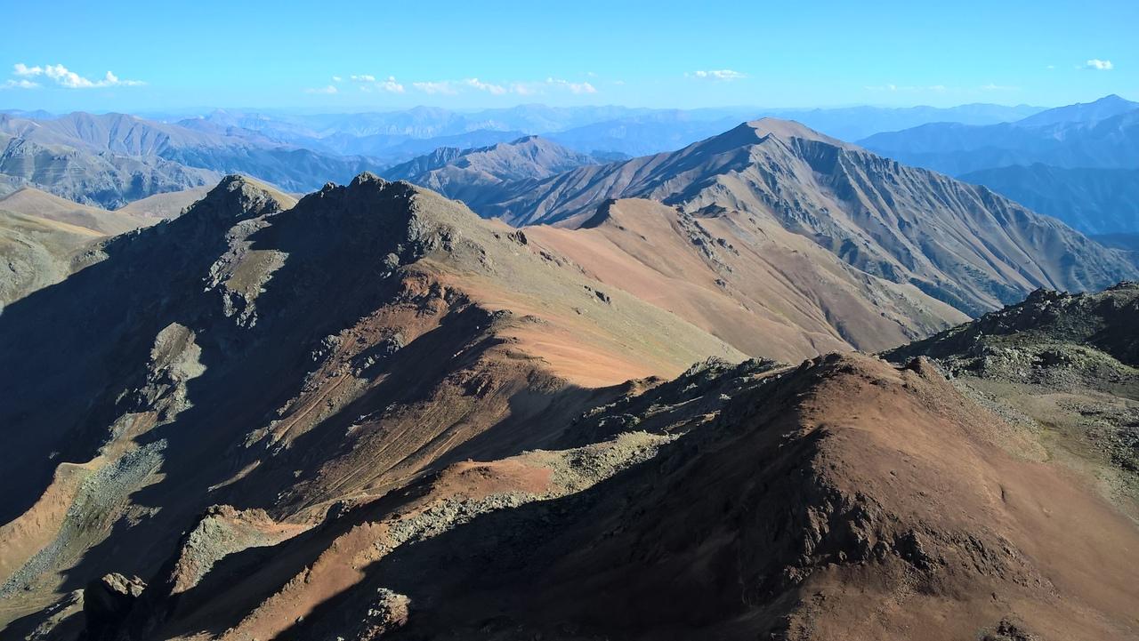 над Юксекоба в горах Качкар