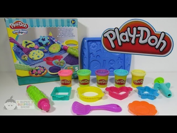 PLAY DOH Sweet Shoppe COOKIE CREATIONS bakery fun
