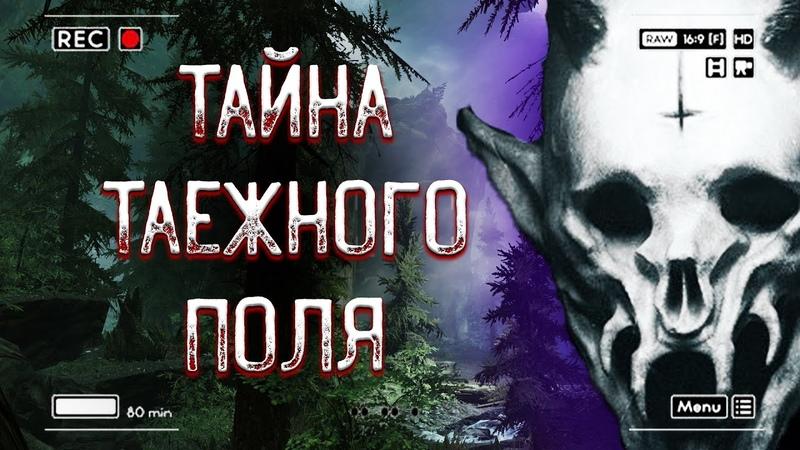 СТРАШНЫЕ ИСТОРИИ Тайна Таежного Поля Scary Stories Мистика Horror Stories