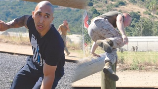 US Marine vs Federal Police Officer EPIC Obstacle Course CHALLENGE