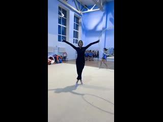 Наш тренер Алина Марковна Кабакова в отличной форме! Solo