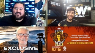 [#My1] AEW Fight For The Fallen Preview: Tony Khan Meets Eric Bischoff, with 83 Weeks' Conrad Thompson