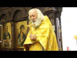 Протоиерей Евгений Соколов. Решение всех проблем - прикосновение к Богу.