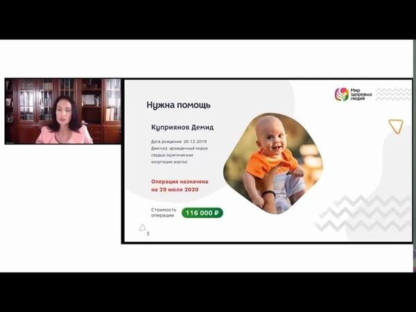 Мир Здоровых Людей Благотворительный Фонд Содействия Укреплению Здоровья