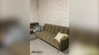 Диван-кровать Madrid, обзор раскладного дивана в цвете капучино