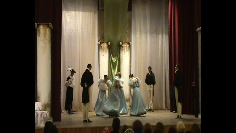 Фильм концерт Исторический танец №9 мазурка
