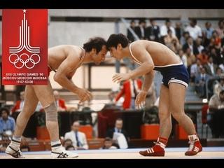 Олимпийские игры Москва 1980 СССР Магомед-Гасан Абушев (USSR) vs Августин Атаси (NIG) Нигерия