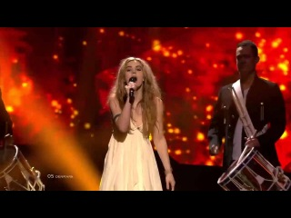 Eurovision 2013 Denmark Emmelie de Forest - Only Teadrops LIVE AT FIRST SEMI-FINAL)
