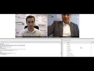 Skyway   МИХАИЛ ХАЗИН  Гость вебинара 13 05 2014год