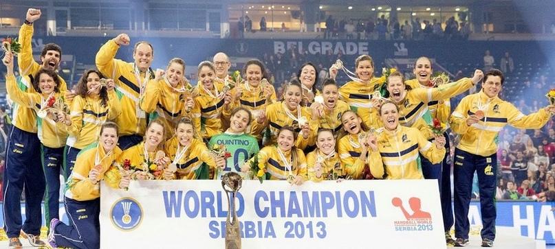 Сборная Бразилии — чемпион мира-2013