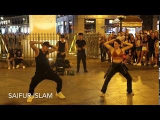 Street Dance in Madrid, Spain 🇪🇸