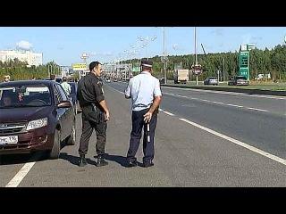 Приставы арестовывают автомобили водителей, не заплативших штрафы, прямо на дороге - Первый канал