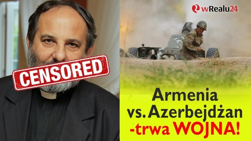 Ks Isakowicz Zaleski ocenzurowany Armenia vs Azerbejdżan trwa WOJNA A Miksa wRealu24