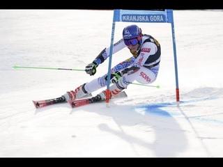 Michal Matura. FIS Alpine Skiing World Cup - Women's Giant Slalom (Run 1) - Kranjska Gora (SLO) 2020; опублик.  г.