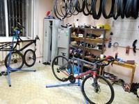 Друзья, мы переехали и уже полным ходом принимаем велосипеды на ремонт!