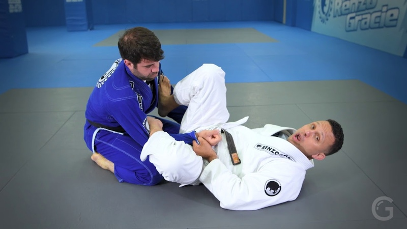 Renzo Gracie's Mastering Brazilian Jiu Jitsu Lasso pendulum and sweep
