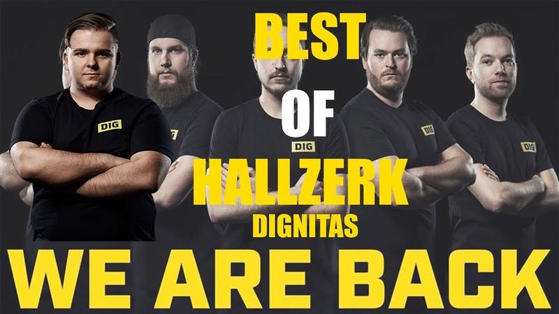 BEST OF HALLZERK DIGNITAS CSGO PLAYER